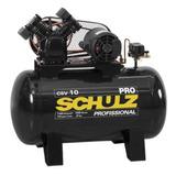 Compressor De Ar 10 Pés 100 L 140 Lb Csv-10/100 Profi Schulz