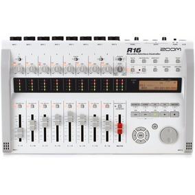 Gravador Standalone E Interface Multipista Zoom R16 Ótima