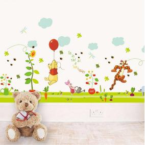 Vinil Decorativo Cenefa Winnie The Pooh A01