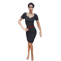 Vestido Pin Up Rockabilly Vintage Lunar Fiesta No Las Oreiro