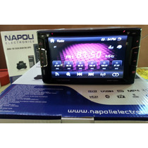 Stereo Napoli Dvd-tv 7335,gps,usb, Con Camara Retroceso.
