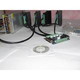 Kit Parte Eletronica Controladora Cnc 4 Eixos Driver Tb6600