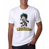 Camiseta My Hero Academia Smash Manga Curta Liquidação
