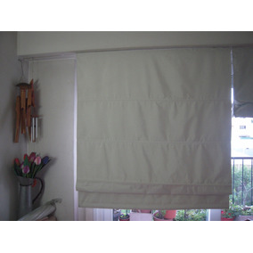 Dos Cortinas Blancas Black Out De Easy Marca Cotidiana