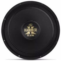 Auto Falante Woofer Eros Hammer 5.2 12pol 2600w Rms 4ohms