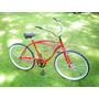 Bicicleta Playera Rod 26 Manubrio Cromado