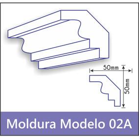 Moldura Isopor Eps Sanca Modelo 02a 1 Metro Promoção