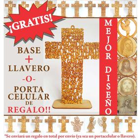 Cruz Oración Virgen De Guadalupe 30 Cm Recuerdos Luctuosos