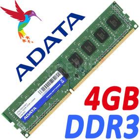 Memoria Ram Ddr3 4gb Bus 1333mhz Adata Para Pc