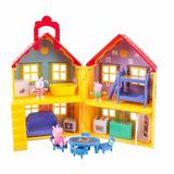 Peppa Pig Casa De Peppa Lujo Cerdita Deluxe House Playset