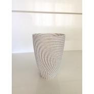 Kit 02 Vasos Decorativo Para Suculenta De 10cm