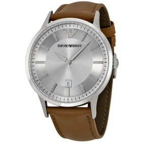 e73d91b58ebe Reloj Emporio Armani Correa De Cuero - Reloj de Pulsera en Mercado ...