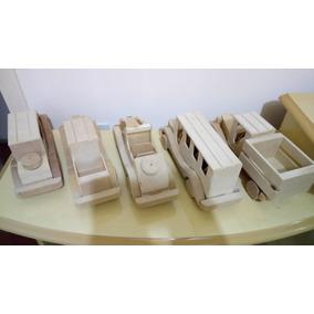 Brinquedo De Madeira - Carrinhos Artesanais Colecionáveis