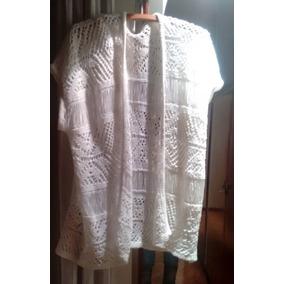 Lote Chalecos Mujer Tejido Tipo Crochet Verano Talle 6 Xl
