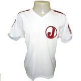 Camisa Retro Juventus Da Mooca Década De 80 Branca