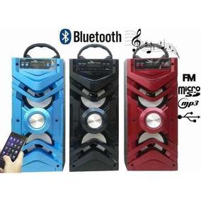 Caixa Som Amplificada Portátil Via Bluetooth Mp3 Usb Fm 2023