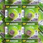 Bateria Pila X10 Gp Lr41 192 1.5v Alcalina Nueva Original