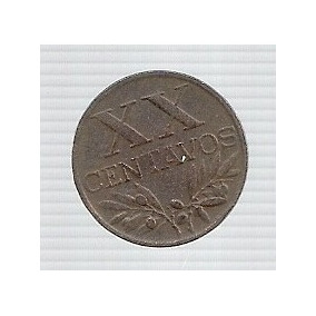 Portugal 20 Centavos 1952