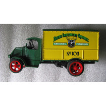 Alcancia Con Publicidad John Deere En Camion Mack Año 1926
