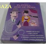 Box : Coleção A Pantera Cor De Rosa - 5 Filmes Dvd Digipack