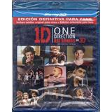One Direction Asi Somos En 3d Blu Ray