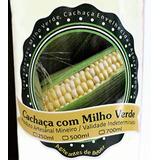 1 Litro Cachaça Pinga Artesanal Minas Sabor Milho Verde