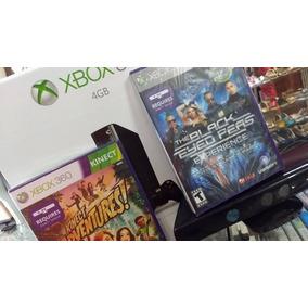Xbox 360 500gb + 50 Jogos Originais Kinect Brinde*