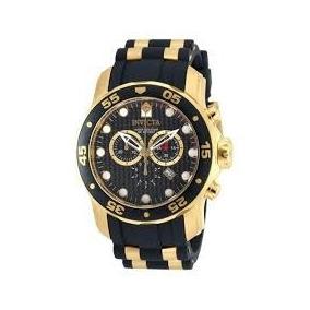 Reloj Invicta Pro Driver 90085 Baño Oro Nuevo Envio Gratis