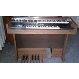 Organo Yamaha Doble Teclado Con Pedalera Yamaha