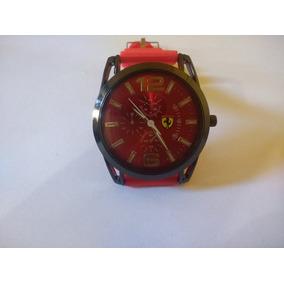 2b24e157364 Relogio Ferrari Vermelho Em Aco - Relógios no Mercado Livre Brasil