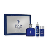 Perfume Polo Blue Cofre Edp X125ml+locion+deo