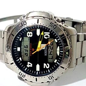 a977b5bd425 Citizen Aquamount Aqualand Titanium C900 Masculino - Relógios De ...