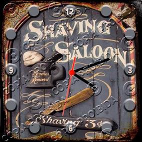 8d09fbe1936 Relógio Vintage King Mdf 27x27 Barber Shop Cloqbc.0621 · R  29 98