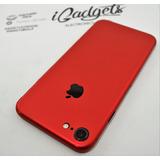 Skin Vinil Rojo Iphone 7 Metalico Rojo Azul Morado