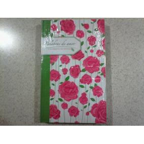 Libro Palabras De Amor Rosas (cuaderno De Notas) Pasta Dura