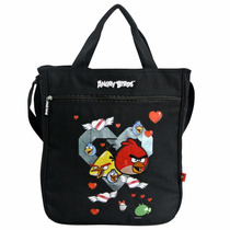 Bolsa Feminina De Ombro Sacola Tote Angry Birds Abb500201