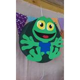 Piñata Animales De La Granja Canciones Sapo Pepe En Goma Eva