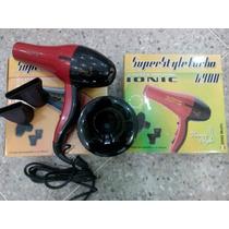 Secador De Cabello Super Style Turbo 25.000rpm
