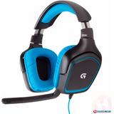 Diadema Gamer Logitech G430 7.1