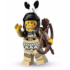Lego Minifigures Series 1 Tribal Hunter 8683 Original