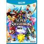 Wii-u Super Smash Bross Nuevo Y Sellado - Game Sport Chile