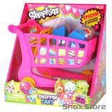 Shopkins Carro Carrito De Compras +2 Figuras Exclusivas Shox
