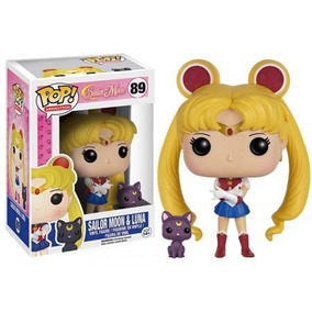 Boneco Funko Pop Sailor Moon - Sailor Moon With Luna