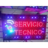 Avisos Luminosos Servicio Tecnico Grande 55 De Ancho X 33