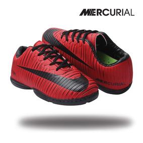 fb013cbcda Chuteiras Outras Marcas de Futsal para Infantis Vermelho no Mercado ...