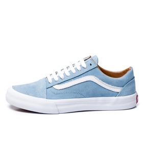 1ae3075ba6b Tãªnis Vans Feminino Old Skool - Tênis Azul claro no Mercado Livre ...