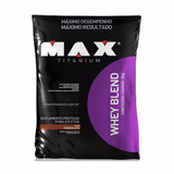 Whey Protein Blend Refil - Max Titanium - 2kg
