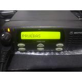 Motorola Cdm1250/pro5100 Uhf 450-512 Mhz 40 Watts 64 Canales