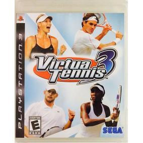 Virtua Tennis 3 Ps3 Mídia Física