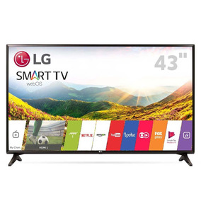 Smart Tv Led 43 Full Hd Lg 43lj5550 Wi-fi Hdmi E Usb